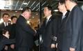 韩朝首席代表道别