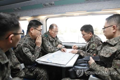 수방사, 경강선 KTX 경비지원 합동태세 점검