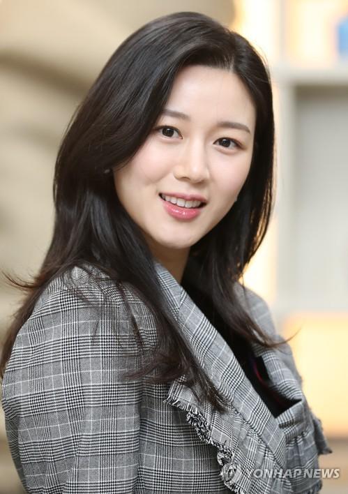 S. Korean actress Lee Da-in
