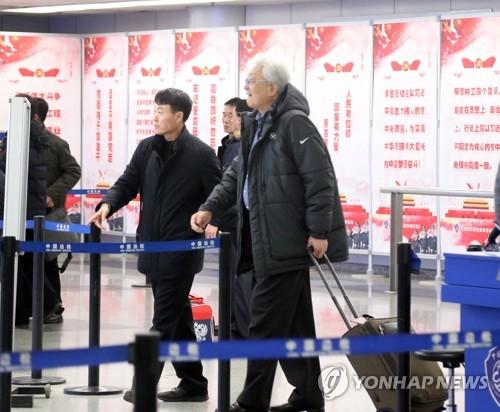 N. Korean IOC member heads back to Pyongyang