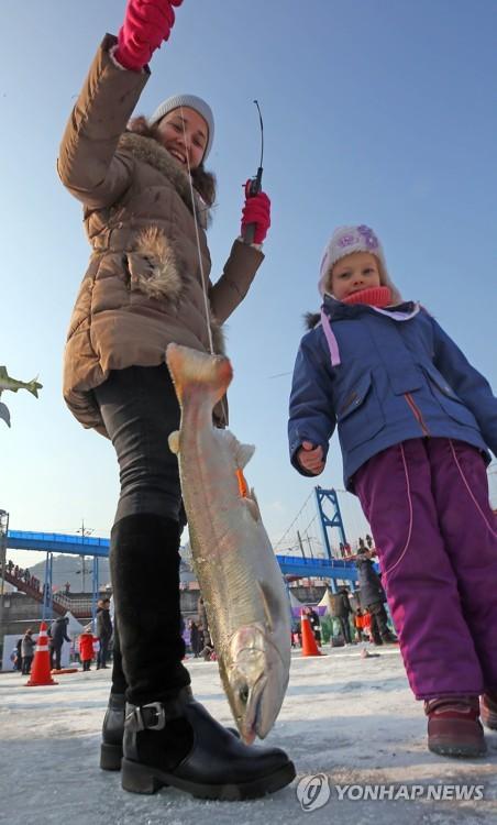Ice fishing fest