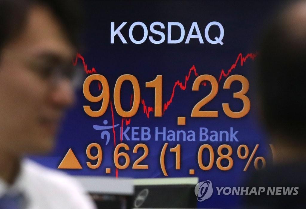 Индекс KOSDAQ превысил 900 пунктов