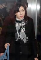 이혼소송 조정기일 출석하는 노소영 아트센터 나비 관장