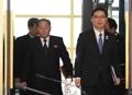 韩朝冬奥会谈首席代表入场