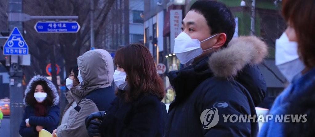 마스크 쓰고 미세먼지 줄이기 캠페인