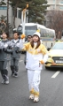 Flamme olympique à Goyang
