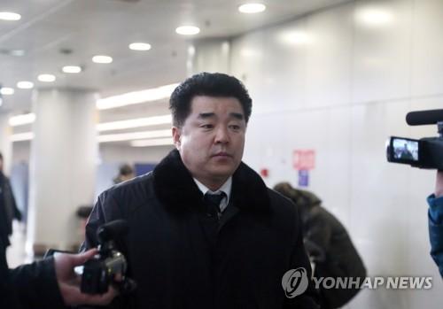 北朝鮮の金日国体育相=(聯合ニュース)