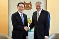 韩国新加坡防长会晤