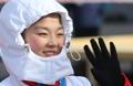 朝鲜花滑少女廉黛玉