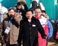 朝鲜体育代表团团长元吉友