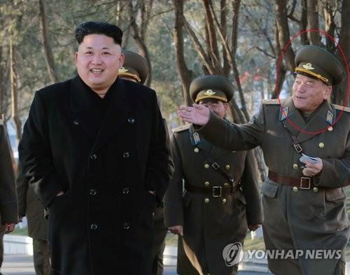 손철주 북한군 총정치국 조직부국장