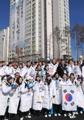 韩国冬奥队加油!