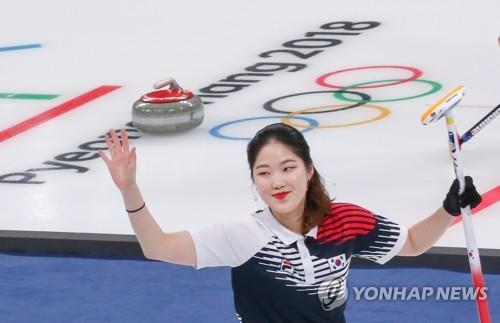 韩冰壶队获首胜