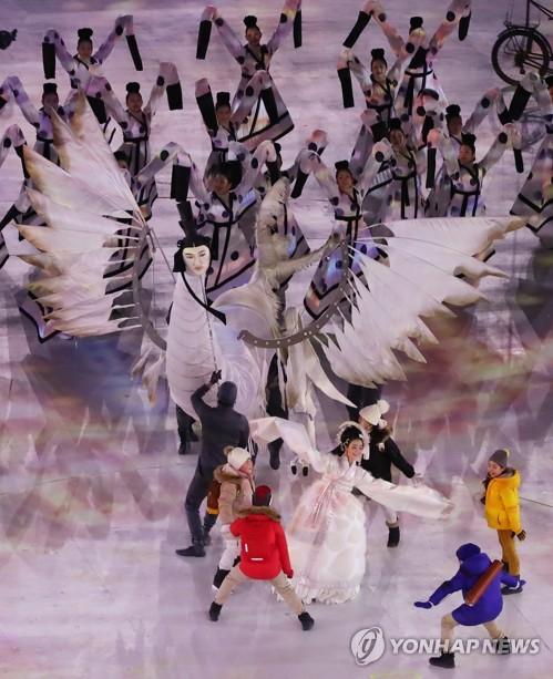 [올림픽] 평창 개회식 '인면조' 화제