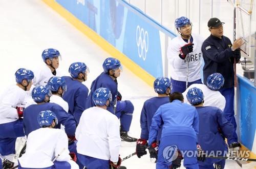 [올림픽] 남자 아이스하키 대표팀 승리의 해법찾기