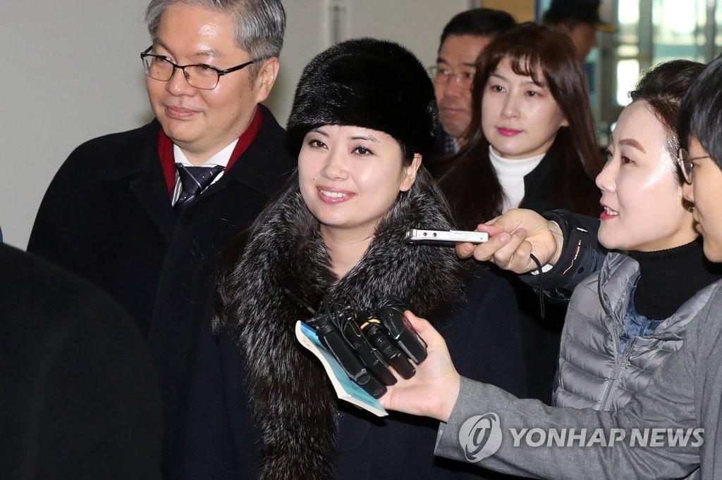 [올림픽] 도라산 CIQ 통해 귀환하는 현송월