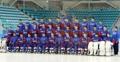 韩国男子冰球队赛前合影