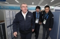 IOC主席巴赫访问韩联社冬奥采访区