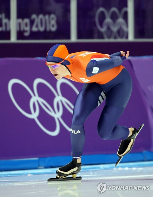 Dutch speed skater wins women's 1,500m