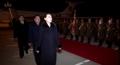 朝鲜央视播高官团访韩归来录像
