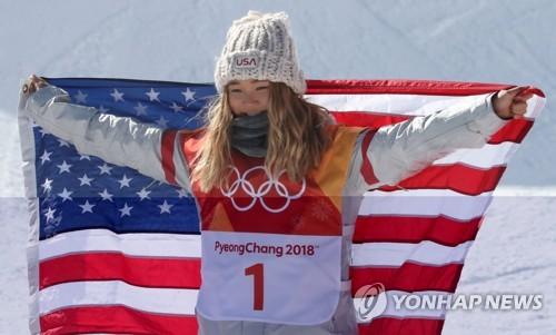 韩裔美国选手克洛伊・金摘金