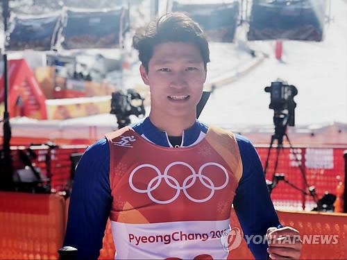 한국 선수로는 26년 만에 올림픽 활강 코스 완주한 김동우