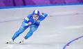 スピードスケート男子で銅メダル
