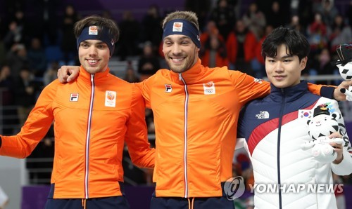 [올림픽] '넘사벽'은 없다…한국 男빙속, 올림픽 전 종목서 메달 획득