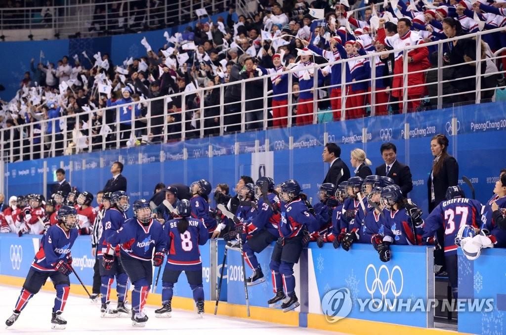 [올림픽] '고조되는 경기장 분위기'