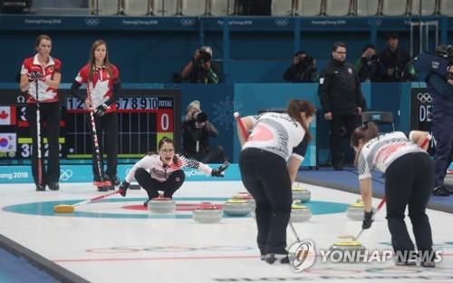 [올림픽] 여자 컬링, 세계 최강 캐나다와 한판