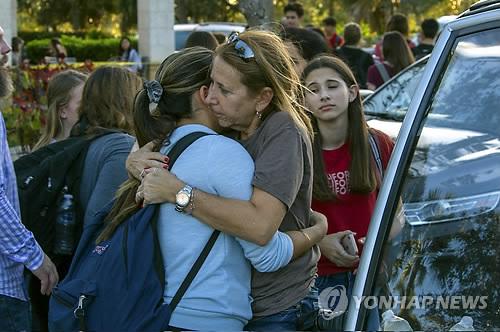 미 플로리다 고교서 총기난사 참극…최소 17명 사망