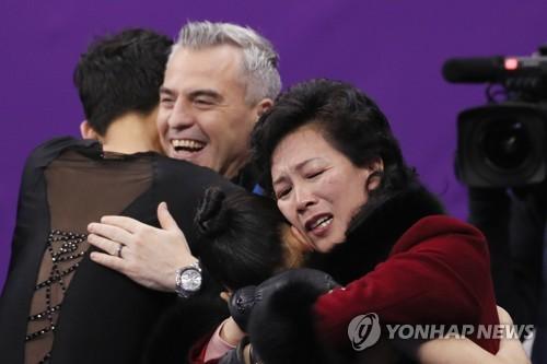 [올림픽] 연기마친 렴대옥-김주식