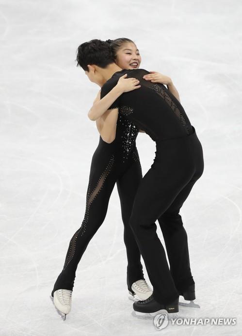 [올림픽] 따뜻한 포옹