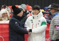 IOC chief meets skeleton gold medalist