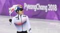 韩短道速滑运动员徐怡拉摘铜