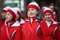 N. Korean cheerleaders