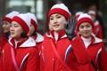 N. Korean cheerleaders