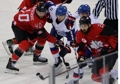 S. Korea-Canada ice hockey match