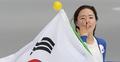 S. Korean speed skater Lee Sang-hwa in tears