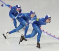 S. Korean women's speed skating team pursuit