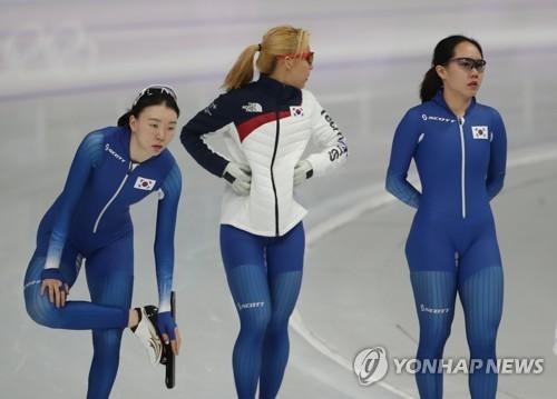 여자 팀추월 대표팀