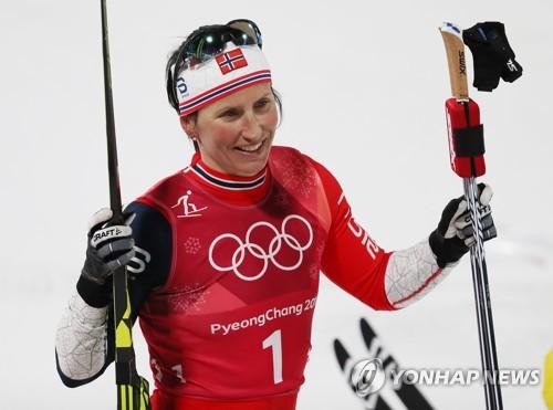 -올림픽- 14번째 메달 비에르겐, 동계올림픽 최다 메달 신기록