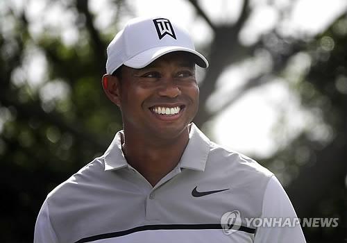 올해 네번째 PGA투어 대회에 나서는 우즈.(AP=연합뉴스)