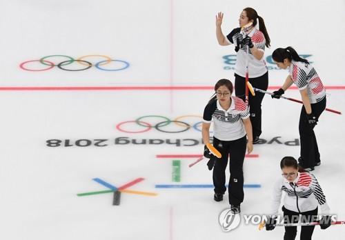 평창올림픽 은메달 획득한 팀킴