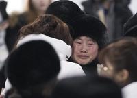 """""""다시 만납시다""""··· 북한 응원단·선수단 귀환길"""