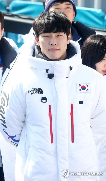 [올림픽] 해단식 참석한 윤성빈