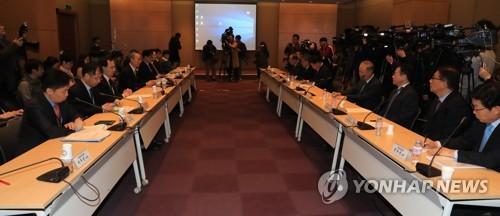 철강 관세 부과  긴급 민관대책회의