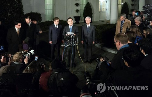 Trump, Kim agree to meet by May: Seoul envoy