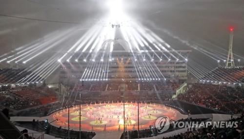 평창 동계패럴림픽 개회식 장면 [연합뉴스 자료 사진]