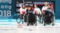 冬残奥会轮椅冰壶 韩国盼取四连胜